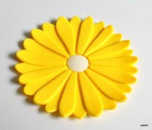 Silikonuntersetzer_Sonnenblume
